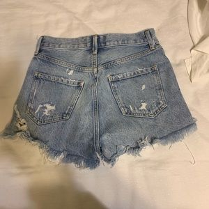 agolde jaden high rise shorts